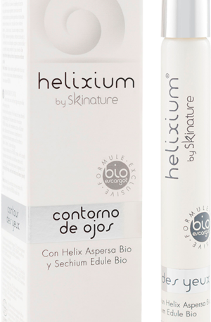 illustration cosmetic eye contour helixium